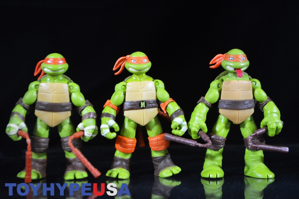 Playmates Toys Teenage Mutant Ninja Turtles Tongue Poppin Mikey Review Toy Hype Usa