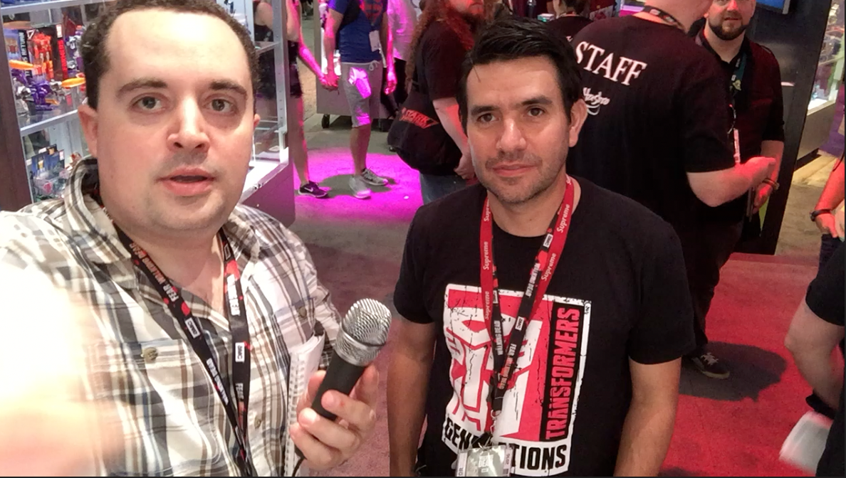 SDCC 2016: Video Interview With Hasbro's John Warden Of Transformers Brand Team