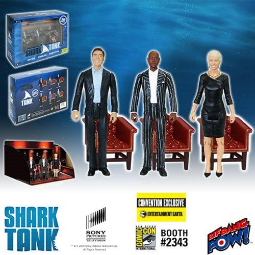 SDCC 2016 Exclusive Bif Bang Pow! Shark Tank 3 3/4″ Boxed Sets