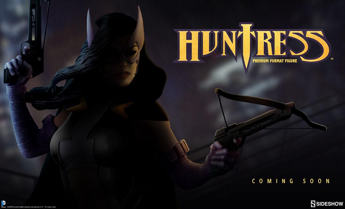 Sideshow Announces DC Comics Huntress Premium Format Figure