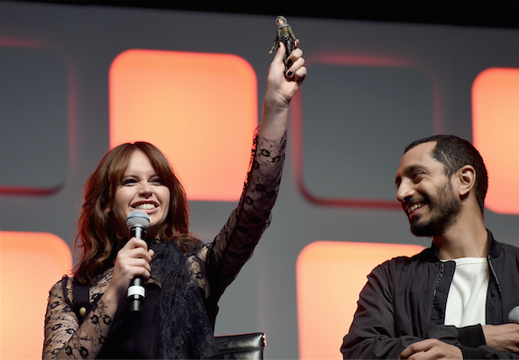 """Star Wars Celebration: First Toy Revealed From """"Rogue One"""""""