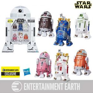 Star Wars The Black Series Astromech Droids 3 3:4-Inch Action Figures - Entertainment Earth Exclusive