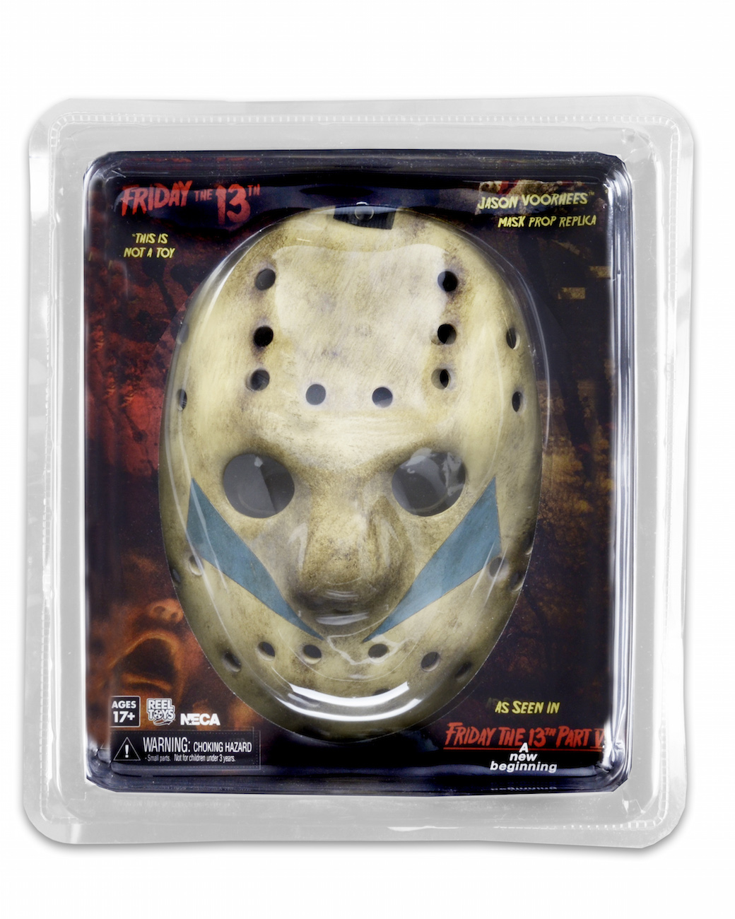 NECA Toys Shipping This Week – Friday the 13th: Prop Replica – Part 5: A New Beginning – Jason Mask