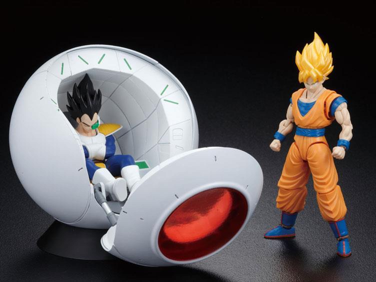 Bandai: Dragon Ball Z Figure-rise Mechanics Saiyan Space Pod