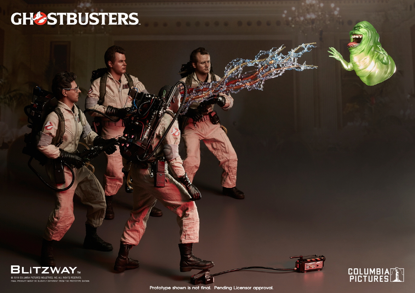 Blitzway Ghostbusters Sixth Scale Figures Official Details & New Images