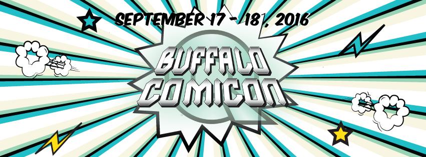 Buffalo Comicon 2016 Coverage Begins Saturday September 17th