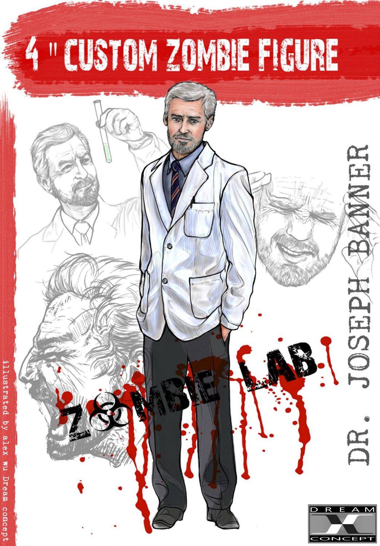 Dream Concept Collectibles Zombie Lab Dr. Joseph Banner Figure Revealed