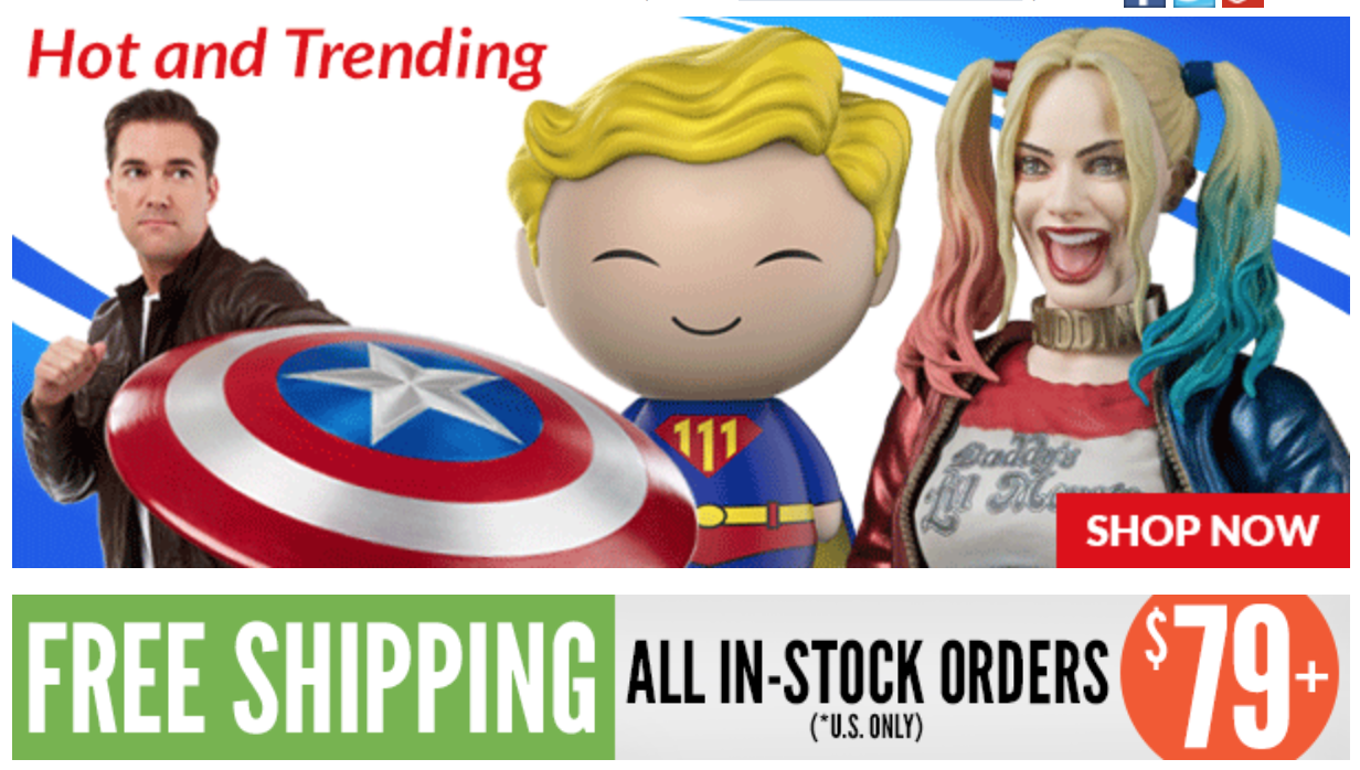 Entertainment Earth: Batman, TMNT: Out Of The Shadows, Marvel, Star Wars & More