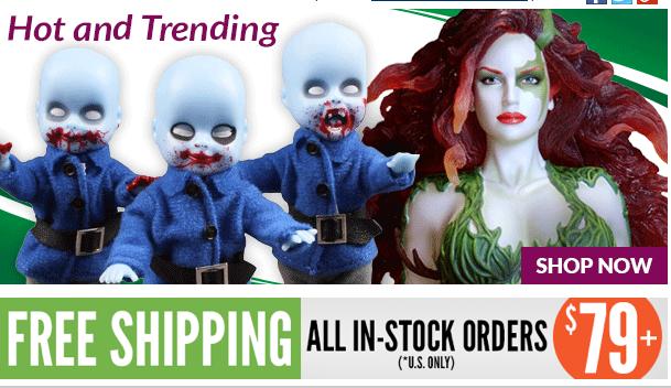 Entertainment Earth: Living Dead Dolls, Suicide Squad, TMNT, DBZ, Summer Sale & More