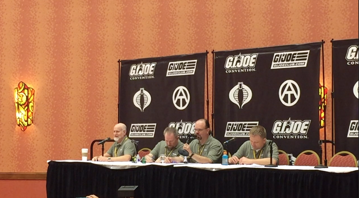 G.I. JoeCon 2016 – G.I. Joe Club Panel Roundtable Video Coverage