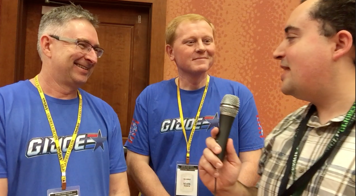 G.I. JoeCon 2016 – Video Interview With Hasbro's G.I. Joe Brand Team Derryl Depriest & Mark Weber