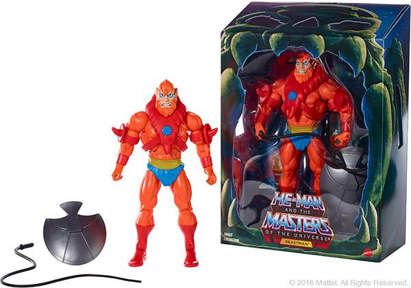 Mattycollector August 2016 Sale – Filmation Beast Man & SDCC