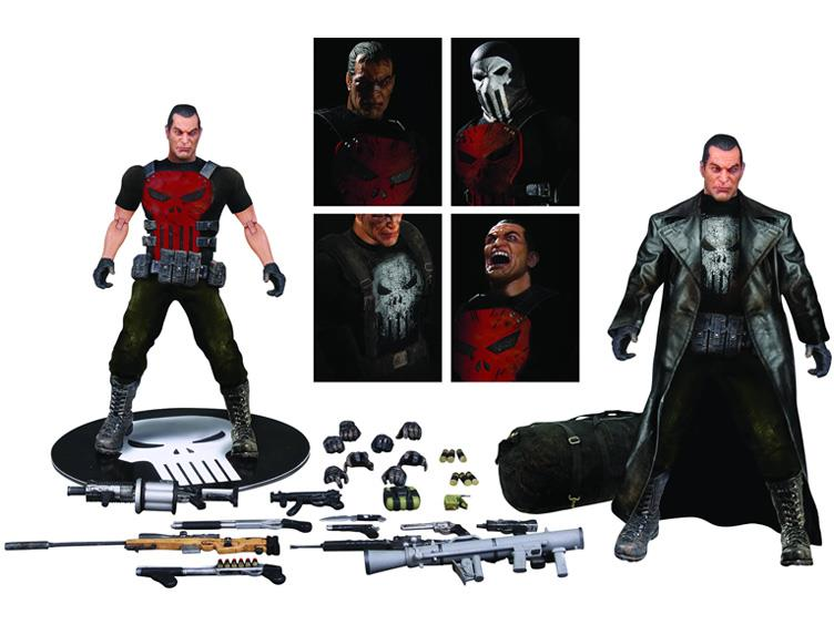 Mezco Toyz Previews Exclusive One:12 Collective Punisher & Daredevil Figures