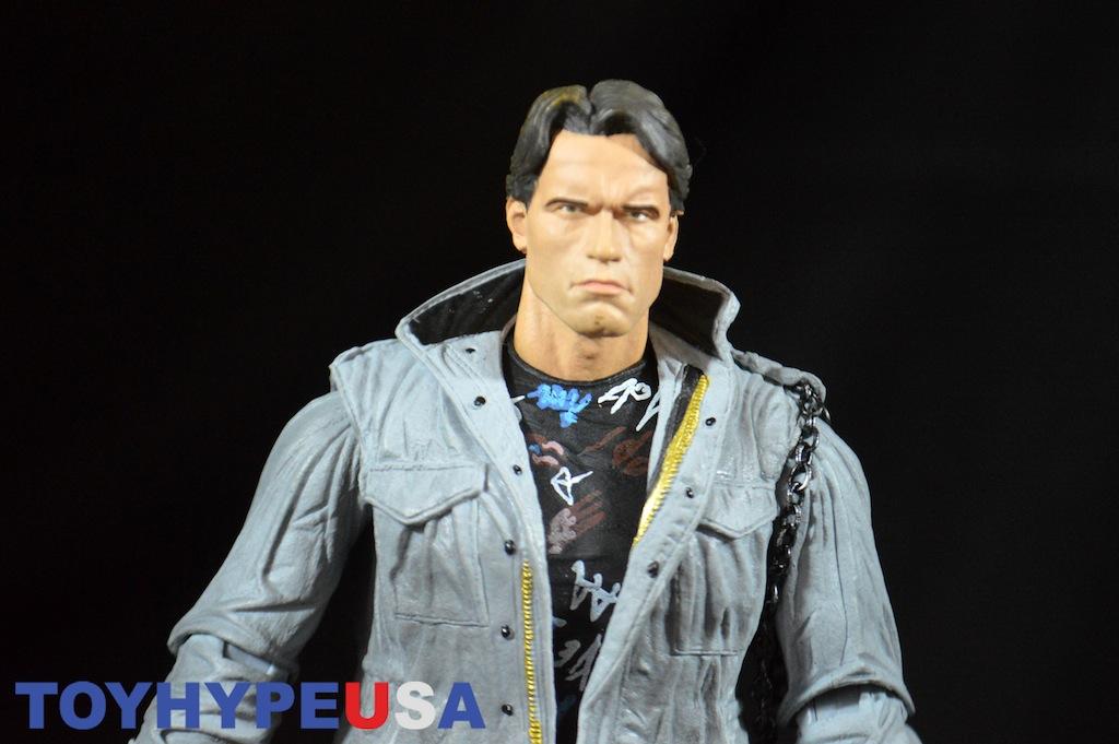 NECA Toys Ultimate Terminator Tech Noir T-800 Figure Review
