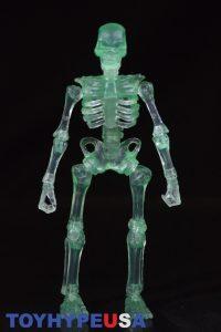October Toys Skeleton Warriors Slime Green Translucent Skeleton Figure 01