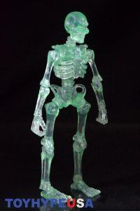 October Toys Skeleton Warriors Slime Green Translucent Skeleton Figure 02