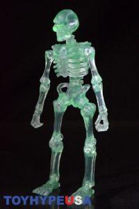 October Toys Skeleton Warriors Slime Green Translucent Skeleton Figure 03