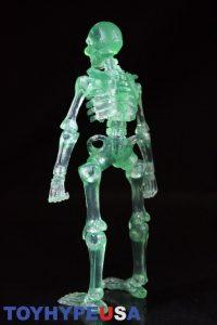 October Toys Skeleton Warriors Slime Green Translucent Skeleton Figure 05