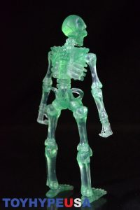 October Toys Skeleton Warriors Slime Green Translucent Skeleton Figure 06