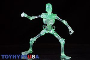 October Toys Skeleton Warriors Slime Green Translucent Skeleton Figure 07