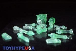 October Toys Skeleton Warriors Slime Green Translucent Skeleton Figure 09
