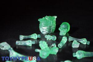 October Toys Skeleton Warriors Slime Green Translucent Skeleton Figure 10