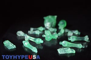 October Toys Skeleton Warriors Slime Green Translucent Skeleton Figure 11