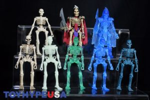 October Toys Skeleton Warriors Slime Green Translucent Skeleton Figure 12