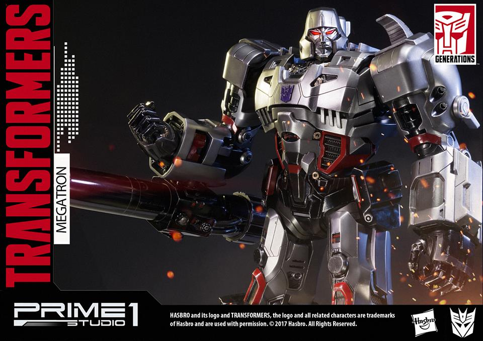 Prime 1 Studio Transformers Generation 1 Megatron Statue Pre-Orders