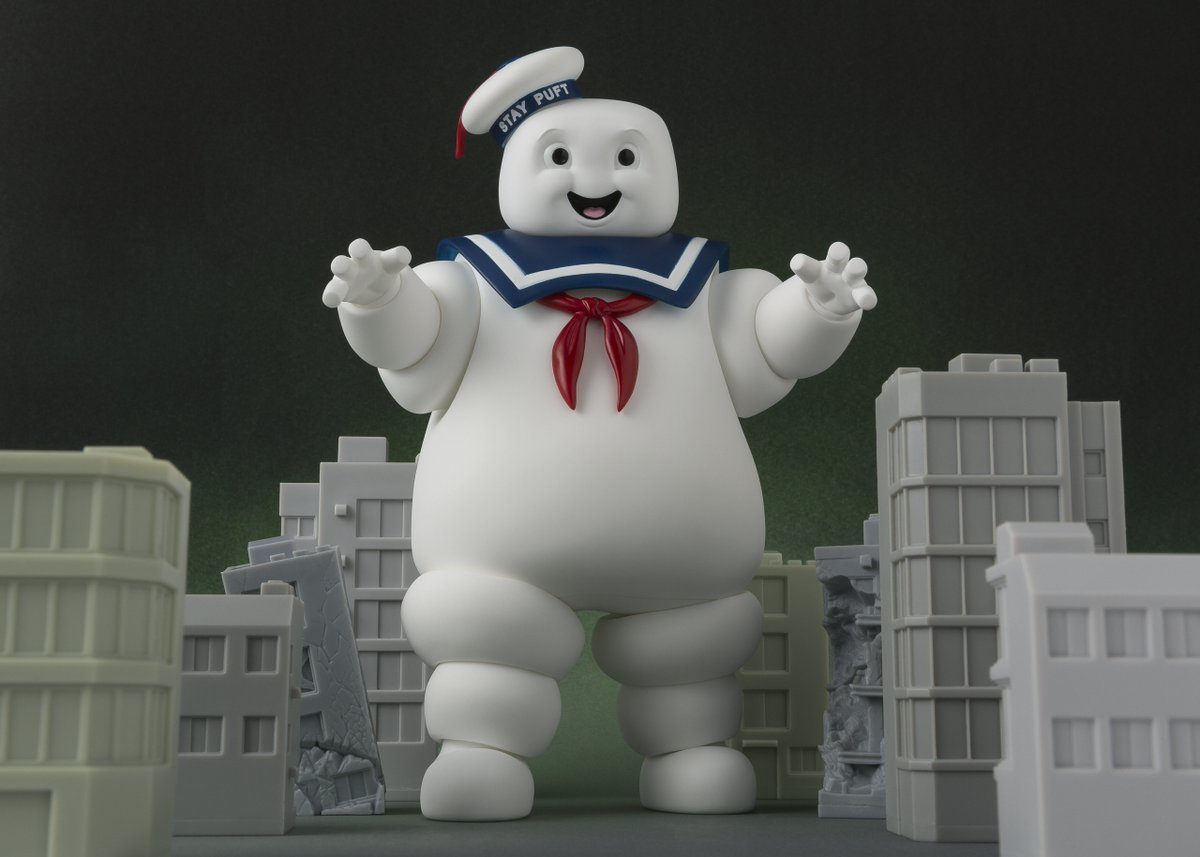 S.H. Figuarts Ghostbusters Stay Puft Marshmallow Man Figure Update & Pre-Orders