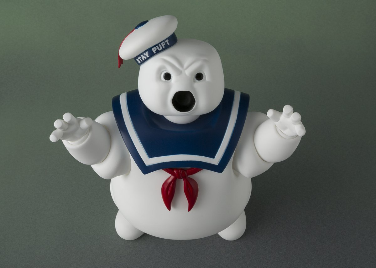 S.H. Figuarts Ghostbusters Stay Puft Marshmallow Man Figure New Details