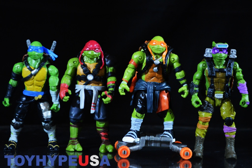 Tmnt Out Of The Shadows Movie Turtles Figures Review Toy Hype Usa
