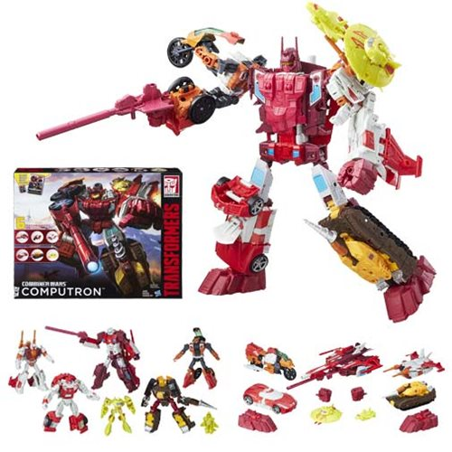 Hasbro Transformers Combiner Wars Computron Technobots Boxed Set Available Now