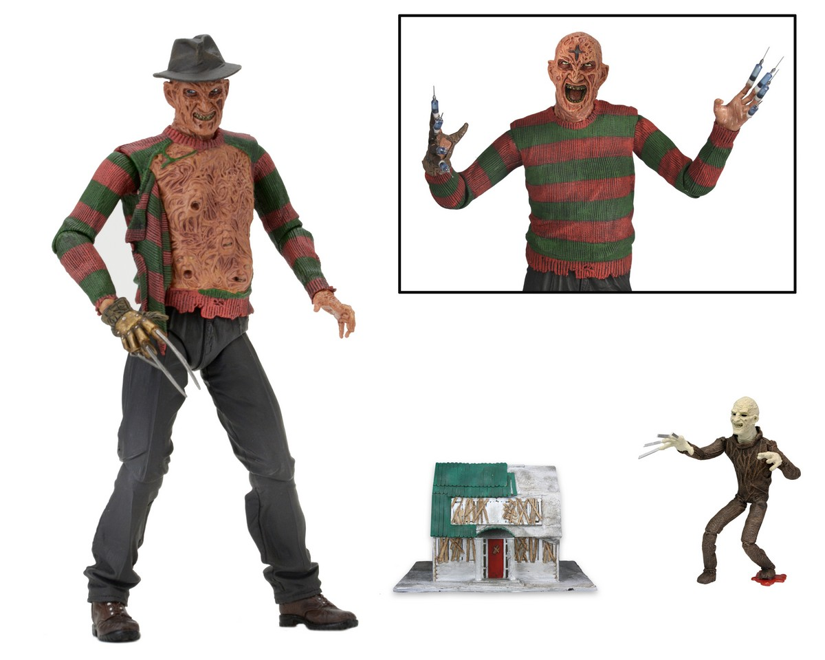 NECA Toys Shipping This Week – Nightmare On Elm Street Part 3 Freddy, Part 4 Jason, Camp Crystal Lake Set & More