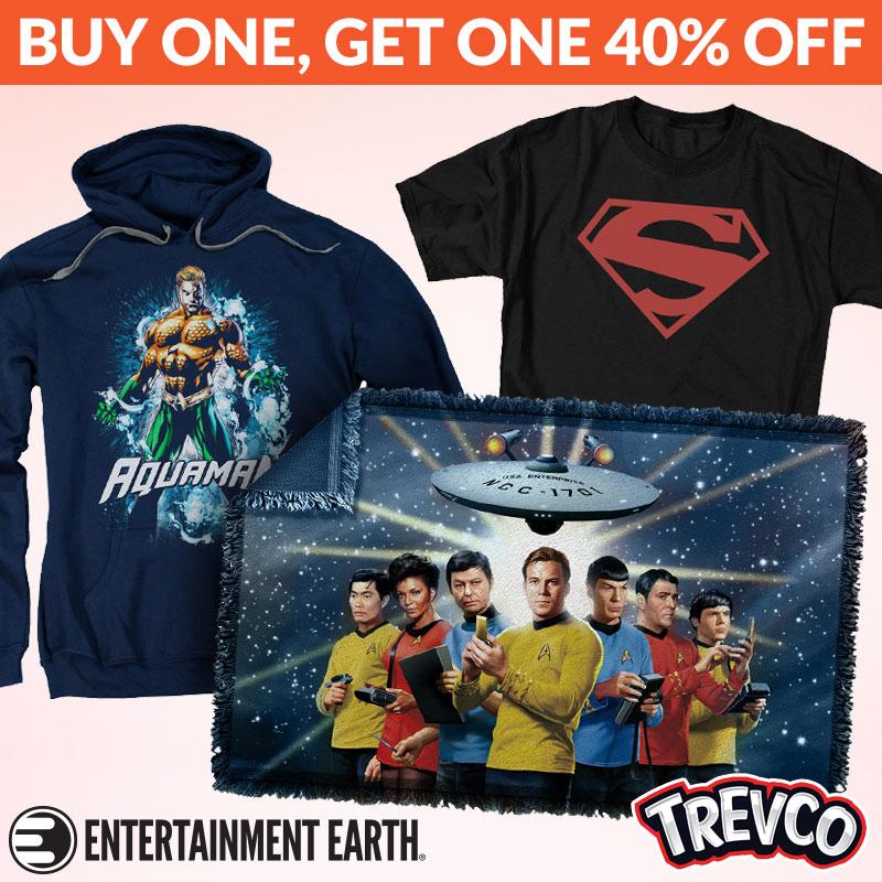 Entertainment Earth: Star Trek, Super Friends, Rogue One, Transformers & More