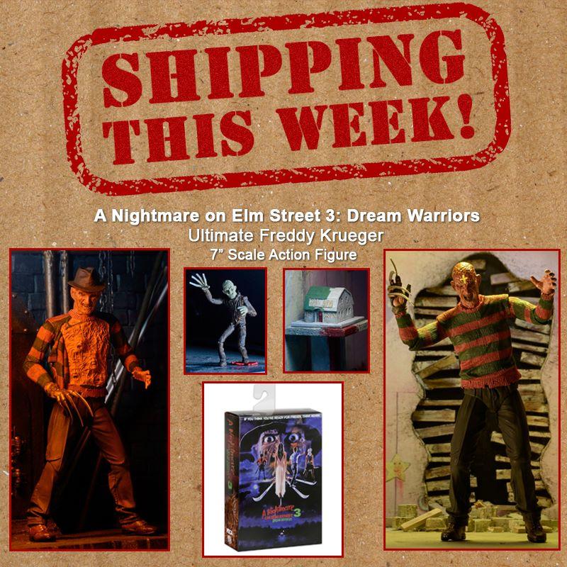 NECA Toys Shipping This Week: A Nightmare On Elm Street 3 – Dream Warriors Ultimate Freddy Krueger 7″ Figure