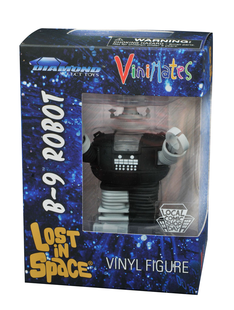 Diamond Select Toys Exclusive Lost In Space Vinimate Lands On Local Comic Shop Day