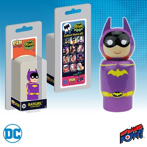 Bif Bang Pow! Announces Batman Classic 1966 Pin Mate Wooden Figures