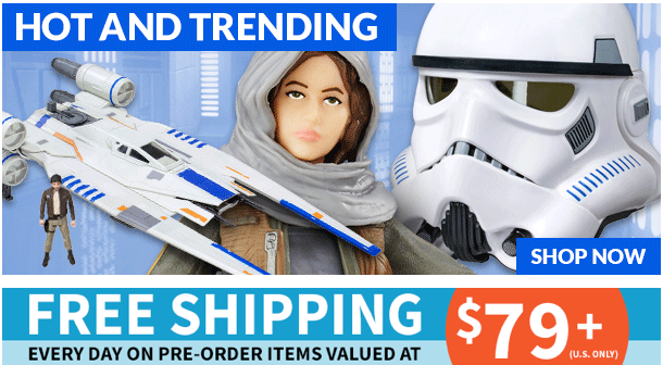 Entertainment Earth: Rogue One, Titans Return, Marvel One:12, Ghostbusters & More