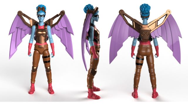 Fly With IAmElemental's Female Action Figures At 2016 New York Comic Con