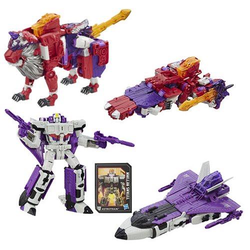 Hasbro Transformers Titans Return Alpha Trion, Astrotrain & More Shipping Soon