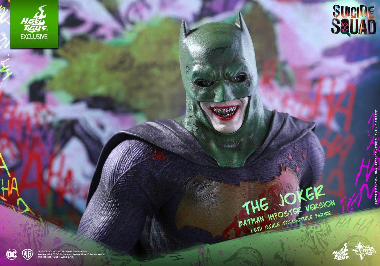 Hot Toys The Joker Batman Imposter Version Sixth Scale Figure Official Details & Images