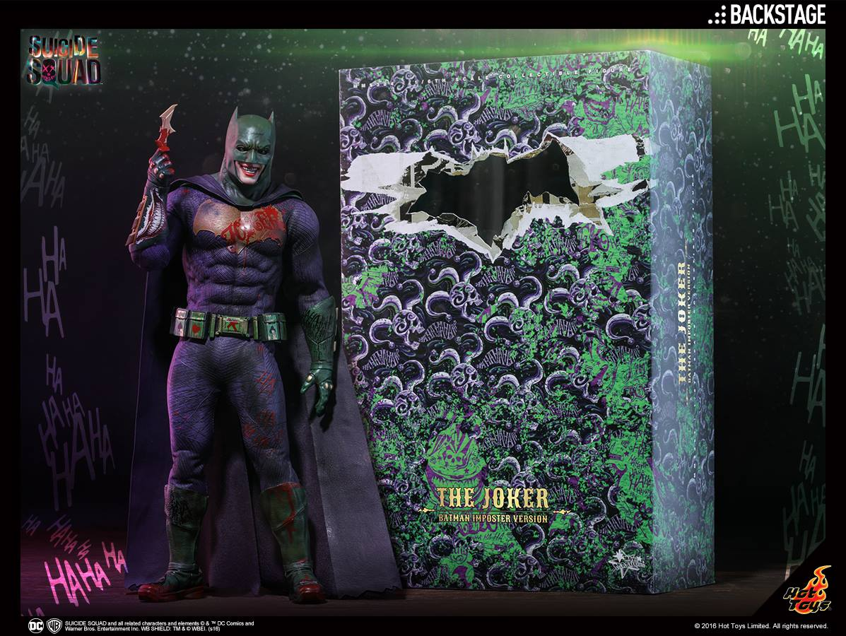 Hot Toys The Joker Batman Imposter Version Sixth Scale Figure Preview