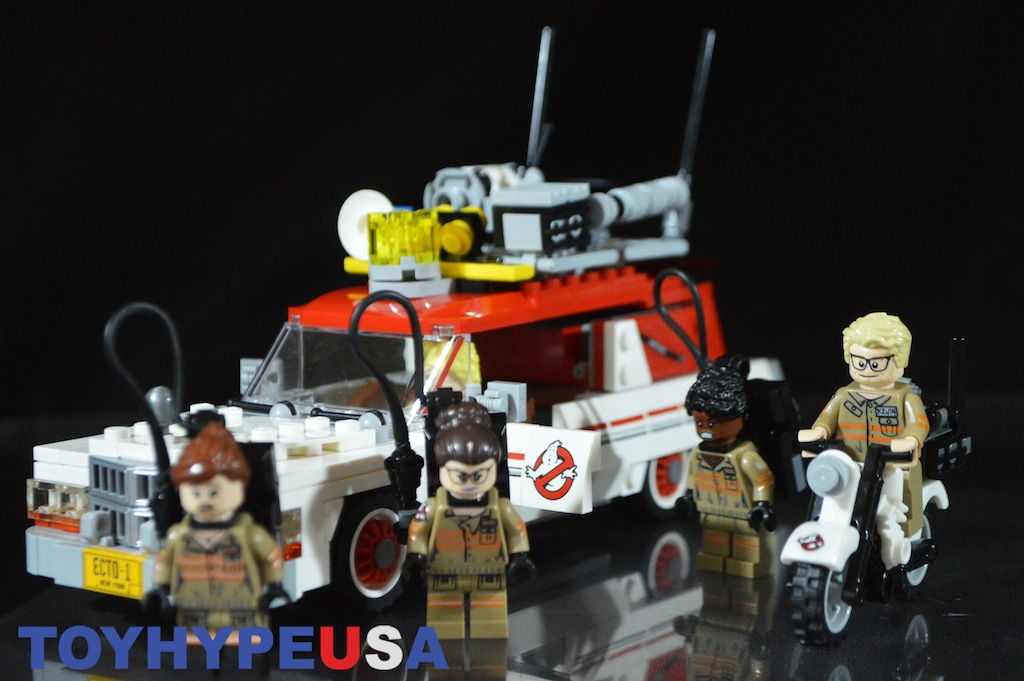 LEGO New Ghostbusters 75828 Ecto-1 & 2 Review