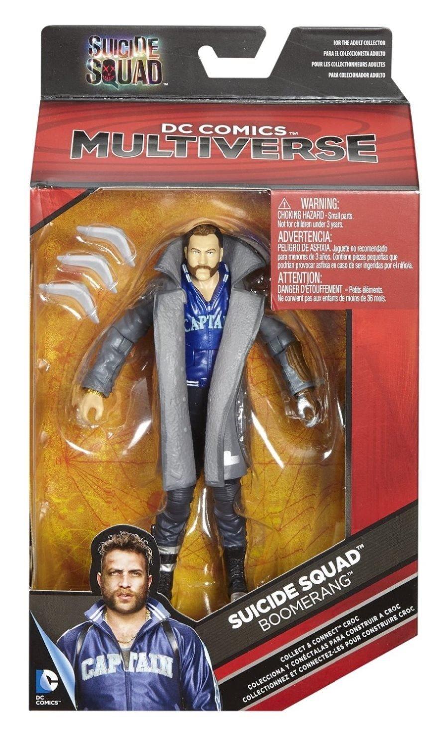 Mattel Suicide Squad 6″ Captain Boomerang Figure For $6.95 On Amazon
