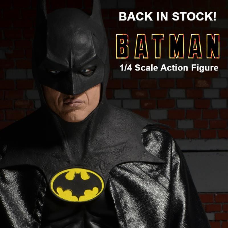 NECA Toys Batman Begins Christian Bale Batman 1/4″ Scale Figure On Amazon & eBay Storefront