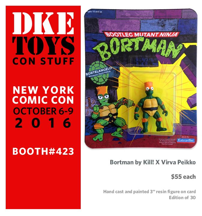 DKE Toys Announces New York Comic-Con 2016 Exclusives Wave 2