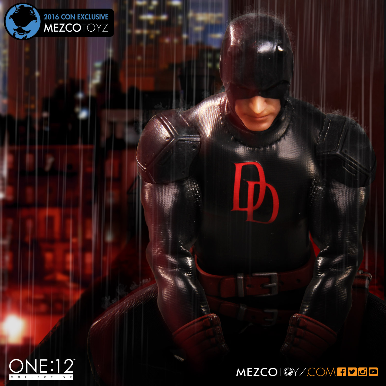 Mezco Toyz Previews Daredevil, Judge Dredd & More New York Comic-Con 2016 Exclusives