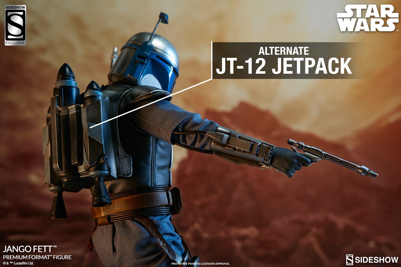Sideshow Star Wars: Attack Of The Clones Jango Fett Premium Format Figure Update