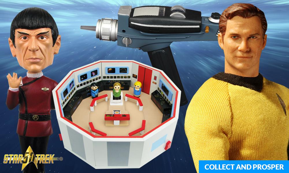 Star Trek 50th Anniversary Celebration On Entertainment Earth